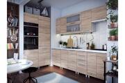 Tendance Cuisine bois vif laquée infinity frigo et four encastrables 360 cm