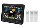 La Crosse Technology La crosse technology - ws6825 station météo colorée avec 3 capteurs extérieurs - noir