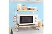 Sobuy Sobuy® frg092-n étagères micro ondes de cuisine mini-étagère four micro-ondes meuble rangement cuisine de service
