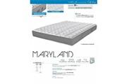 Ebac Matelas maryland en mousse épaisseur 20 cm ebac dimensions - 140 x 190 cm