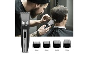 Ckeyin Tondeuse cheveux életrique faible bruit rechargeable avec 4 sabots 3mm / 6mm / 9m m / 12mm pour adultes et enfants