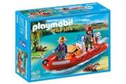PLAYMOBIL Playmobil - 5559 - braconniers avec bateau