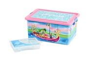 PLAYMOBIL Playmobil- grande rangement 23 l fées + boîte compartimentée, 064674