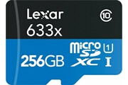 Lexar Lexar carte mémoire micro sd 256 go uhs-i high-performance 633x microsdxc