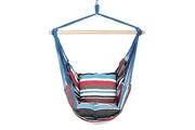 Justgreenbox Chaise balançoire portable hamac suspendue avec 2 oreillers pour jardin intérieur extérieur