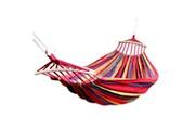 Justgreenbox Hamac double 450 lbs portable de voyage camping suspendu chaise balançoire hamacs en