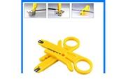 Generic 2pcs rj45 cat5 utp lan punch down tool network cutter câble à dénuder outil ps 237