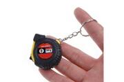 Generic Rétractable règle ruban à mesurer porte-clés mini pocket métrique taille 1m couleur aléatoire ps 188