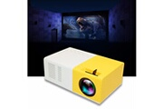 AUCUNE New 1080p home cinema usb hdmi av sd mini portable hd led projecteur blanc