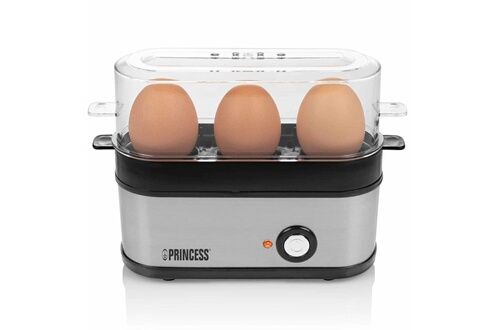 Princess Cuiseur à œufs 200 w noir