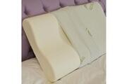 Baldiflex Lot de 2 oreillers ergonomique cervical mémoire de forme 40x70cm déhoussable aloe vera