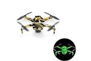 Generic Drone autocollant lumineux imperméable de protection de pvc de peau de décalque de corps pour dji mavic mini
