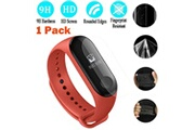Generic 1pc tempered screen full cover screen protector film for xiaomi mi band 3 watchband 6355