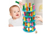 Generic Wobbly tower collapse game stacking column jeux de société challenge funny game toy jouets éducatifs