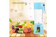 Ckeyin Mixeur des fruits portable 380ml extracteur mini blender pour smoothie, milk-shake,jus de fruits,facile à nettoyer,sans bpa