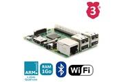 Raspberry Pi Raspberry pi 3 modèle b microsd wifi et bluetooth