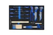 Brilliant Tools Jeu d'outils universels 36 pcs