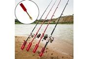 Generic Support de canne à pêche support de poteau plug insert outil de fer réglable au sol bt990
