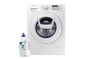 Samsung Lave-linge frontal 9kg a+++ 1400trs/min tambour 65l machine à laver hublot ww90k5413ww/ef