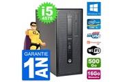 Hp Pc tour hp elitedesk 800 g1 intel i5-4570 ram 16go disque 500go windows 10 wifi