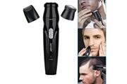 Generic Tondeuse à cheveux et à barbe pour hommes kit de toilettage 3 en 1 usb charge nettoyage facile bt331