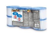 Intex 6 filtres pour spa gonflable - intex
