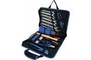 Brilliant Tools Ensemble d'outils 64 pcs dans un sac de cuir acier