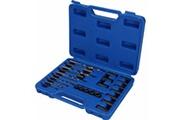 Brilliant Tools Kit d'extraction de vis et de perçage et guidage 25pcs