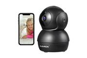 Floureon 1080p hd caméra de surveillance wifi cctv 2,0 mégapixels caméra de sécurité domestique intelligente vision nocturne tilt détection de mouvement