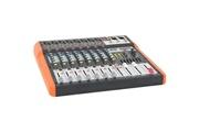Icaverne Table de mixage mx802 table de mixage musique 8 canaux usb & bluetooth