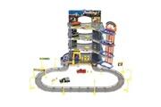 Usinedistrib Circuit voitures parc de stationnement garage à quatre étages + 6 voitures usinedistrib
