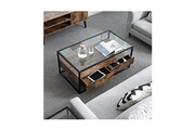 Usinedistrib Table basse en design industriel