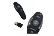 Alpexe Alpexe présentateur sans fil, télécommande de présentation à distance professionnelle powerpoint 2.4ghz