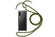 FORCELL Coque huawei p30 cordon nylon tressé collier ou bandoulière forcell vert