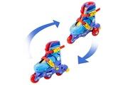 D'arpeje Icaverne patin a roulette - patin quad pat' patrouille rollers inline 2 en 1