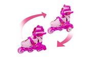 Icaverne Icaverne patin a roulette - patin quad pat patrouille skye rollers en ligne évolutifs 2 en 1