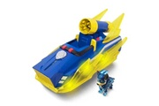 Paw Patrol Icaverne vehicule miniature assemble - engin terrestre miniature assemble pat patrouille véhicule deluxe mighty pups - chase