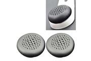 Homtechfrance Écouteurs bluetooth-2 pcs pour logitech ue3000 / ue3100 / ue3500 casque de protection souple éponge earmuffs (noir)