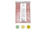 Vivezen Gouttelettes, perles de cire à épiler pelable et recyclable - 100% fait en france - rose