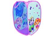 Fun House Icaverne petit meuble de rangement - casier - panier pat patrouille fille sac a linge pour enfant