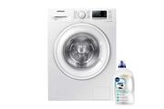 Samsung Lave-linge frontal blanc 7kg pose libre 1400trs/min a+++ 60cm soin linge ww70j5556dw/ef