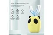 Ckeyin Brosse à dents électrique pour les enfants automatique entièrement brosse à dents onde ultrasonique imperméable