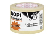 Nopi Nopi nopi maler krepp papierabdeckband, 2er aktions-turm, beige noir