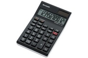 Sharp Sharp sharp calculatrice table el-124 twh, fonctionnement solaire/ noir