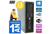 Hp Pc hp workstation z210 sff intel i3-2100 ram 16go ssd 960go windows 10 wifi