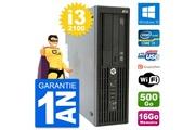 Hp Pc hp workstation z210 sff core i3-2100 ram 16go disque 500go windows 10 wifi