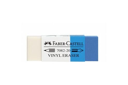 FABER CASTELL Faber-castell faber-castell gomme combinée en plastique 7082-20 noir
