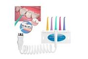 Ckeyin Irrigateur oral hydropulseur pour nettoyage dentaire avec 5 buses de pulvérisation rotative à 360 degrés