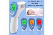 Generic Thermomètre frontal infrarouge numérique sans contact numérique pour bébé, adulte, enfant thermomètre 2020