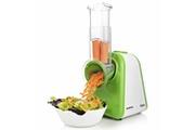 GENERIQUE Icaverne - trancheuses de cuisine superbe appareil à salade 200 w vert et blanc